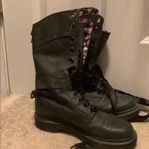 Doc Marten's black boots